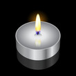 Vector illustration of candle