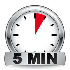 5 MINUTES ICON