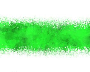 Fondo abstracto, ilustración, salpicadura, verde