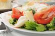 Close up of a crab salad