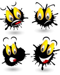 Emoticon macchia