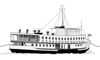 Vapur, Ship
