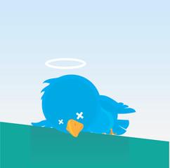 Dead Blue Bird