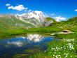 Lac et Mont Blanc
