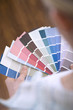 Selecting paint colour for new home