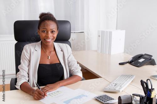 Afrikanische Fachkraft
