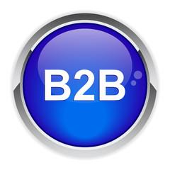 bouton internet B2B icon.