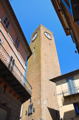 Moor's Tower. Orvieto. Umbria. Italy.