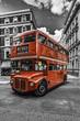 Fototapete England - Englisch - Bus