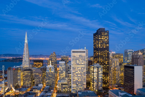 San Francisco after Sunset