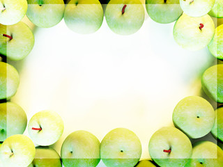 many green apples