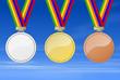 Medaillen am Himmel