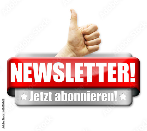 Newsletter! Button, Icon