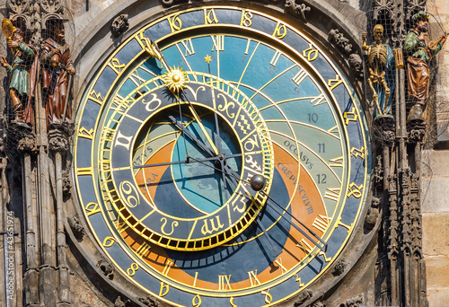 Astronomical clock on Town hall, Prague