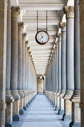 Poster Colonnade in Karlovy Vary