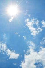 夏も空 入道雲