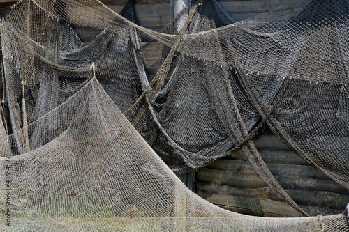 Old fishing nets.