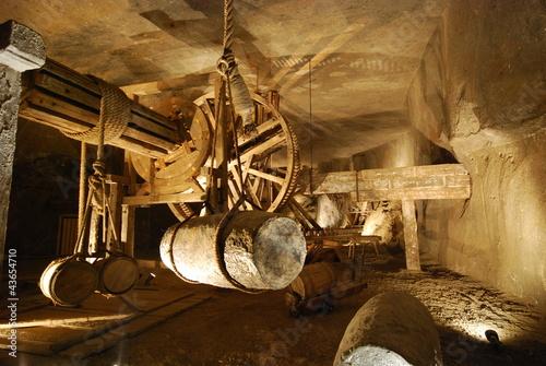 Aluminium Tunnel Kopalnia soli w Wieliczce
