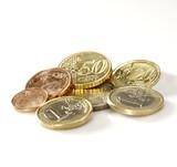 Fototapete Geld - Münze - Geld / Kreditkarte