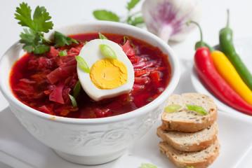 Cold Borsch Soup