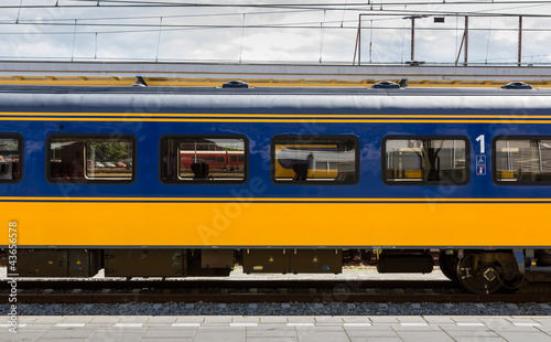 Dutch first class train car