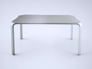 tavolo metalizzato