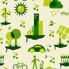 Green city pattern