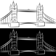 London Bridge Drawing