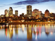 Montreal skyline at dusk, Quebec, Canada - 43658795