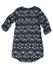 Fashionable women's satin dress