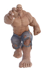 mr muscle will smash yor face