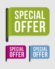 Modern  label – special offer