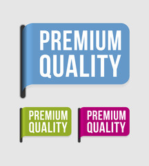 Modern  label – premium quality