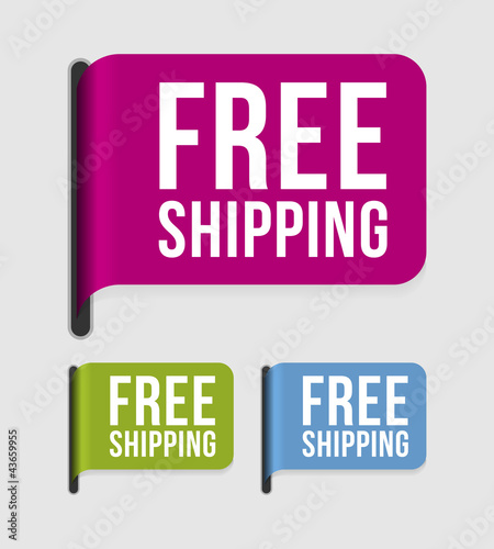 Modern  label – free shipping