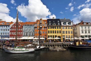 COPENHAGEN. NYHAVN CANAL.