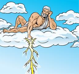 Zeus lightning