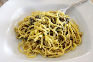 Italian tagliolini with truffle