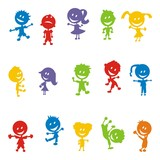 Kinder ~ Kids ~ Children in Aktion - Colorful