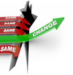 Change Arrow Rises Adapts Vs Same Arrows Failure