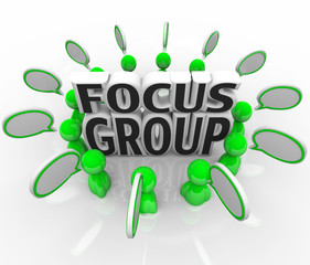 Focus Group Marketing Discussion People Opinions Survey