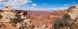 Panoramic view of Canyonlands national park in Utah