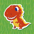 cute dinosaur sticker01