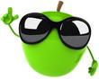 Fun apple
