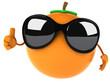Fun orange