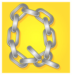 font created by chain