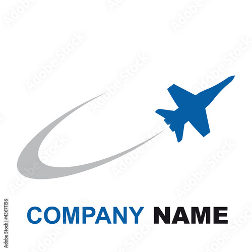 Logo Airshow, airplane # Vector