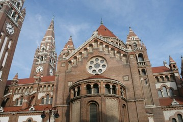 Die Votivkirche von Szeged, Ungarn