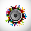 Party People with Sound Speaker