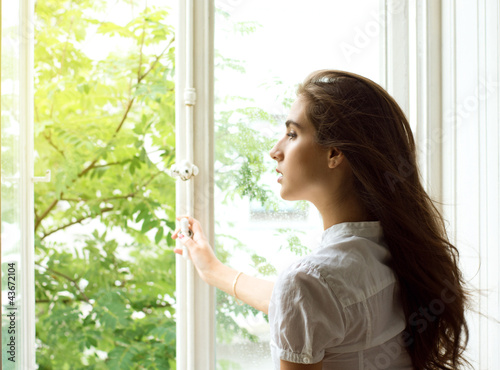 canvas print picture Open Window