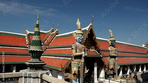 The Grand Palace in Bangkok, Thailand,